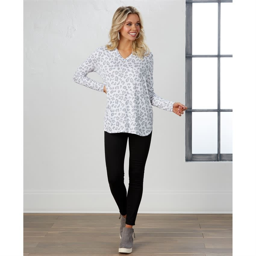 MUD PIE ERIN LONG SLEEVE T-SHIRT