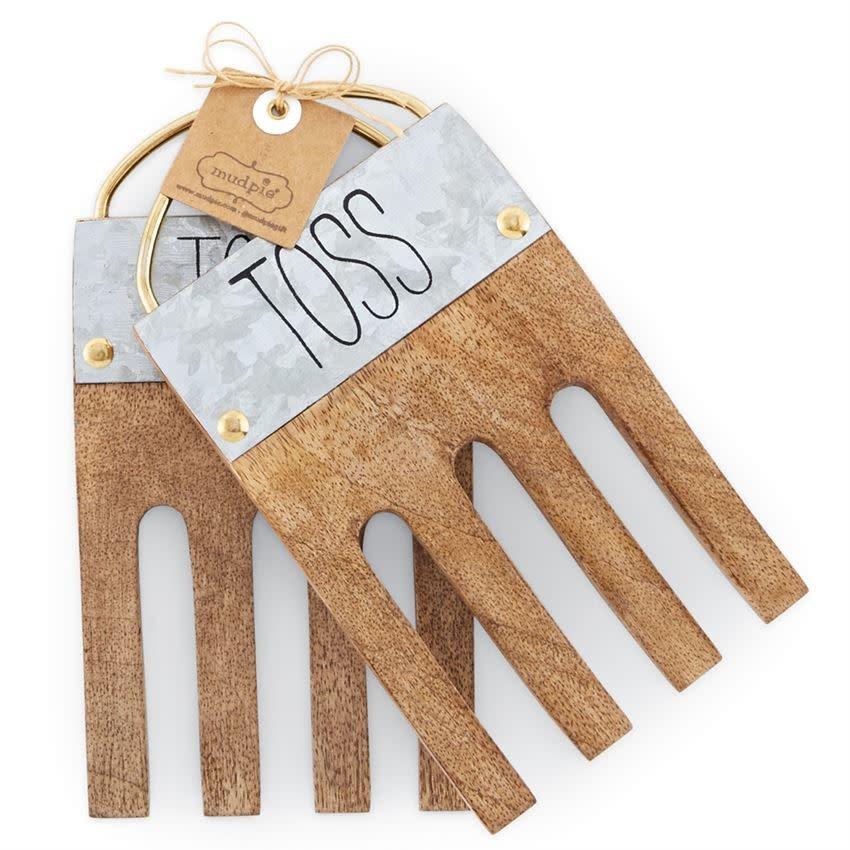 MUD PIE TOSS SALAD HANDS