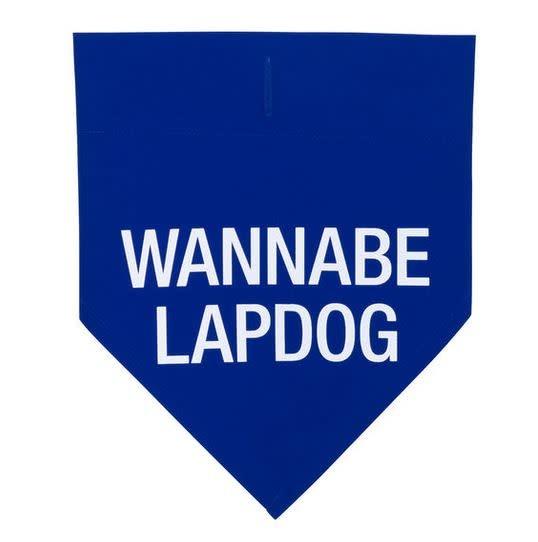 DOG COLLAR BANDANA- wannabe L