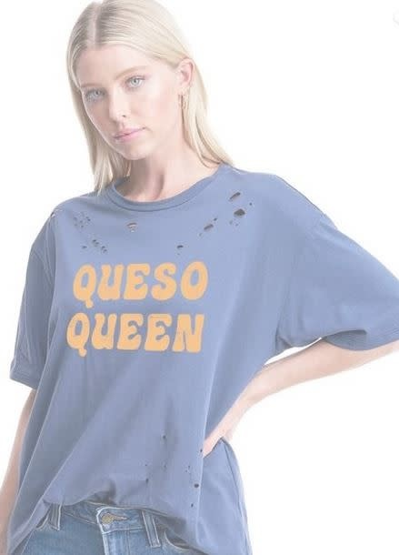 ZUTTER QUESO QUEEN GRAPHIC TEE