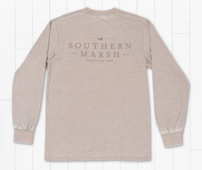 SOUTHERN MARSH SEAWASH TEE LS- CLASSIC