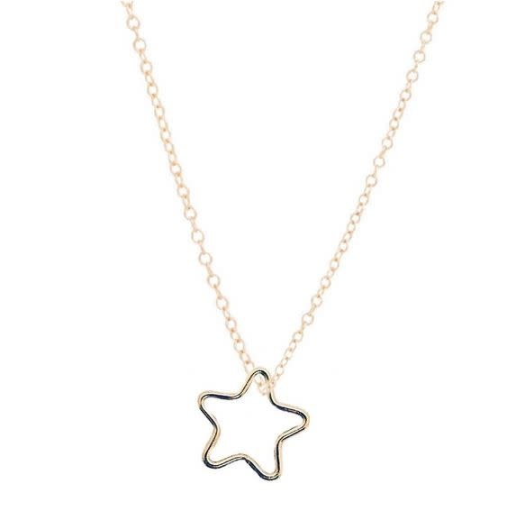"ENEWTON 16"" NECKLACE GOLD- STAR GOLD CHARM"