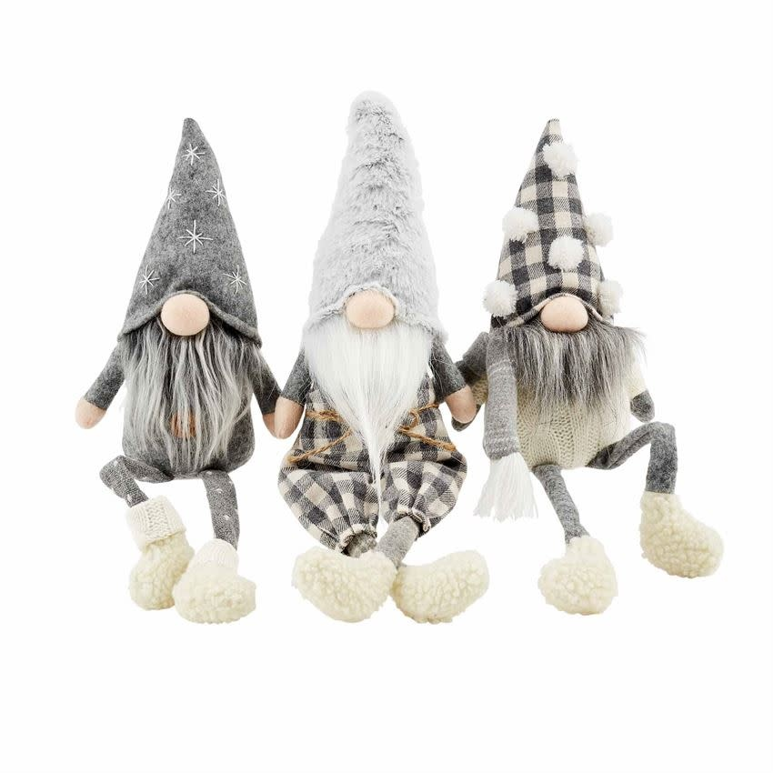 MUD PIE NEUTRAL DANGLE LEG GNOMES