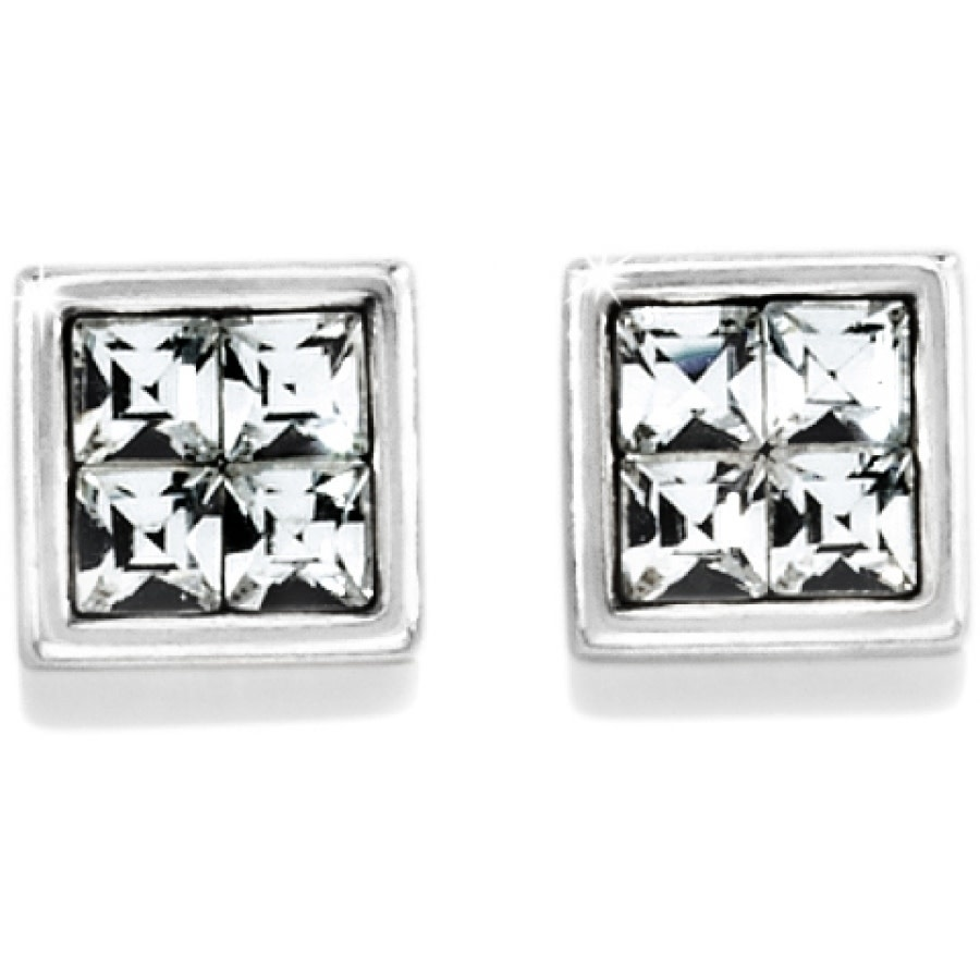 BRIGHTON SPECTRUM MINI POST EARRINGS- SILVER