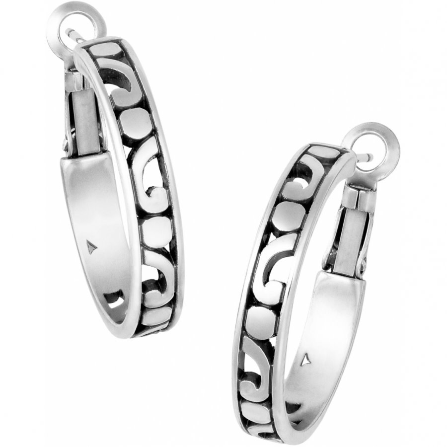 BRIGHTON CONTEMPO SMALL HOOP EARRING