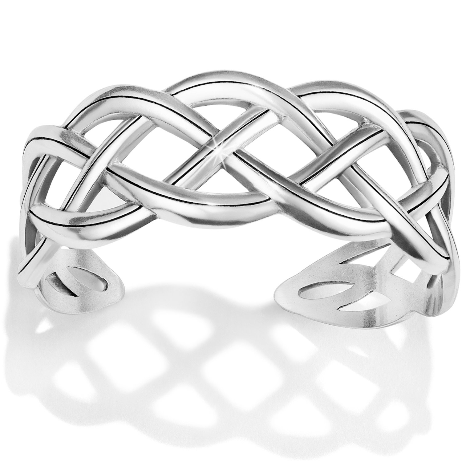 BRIGHTON INTERLOK BRAID CUFF BRACELET