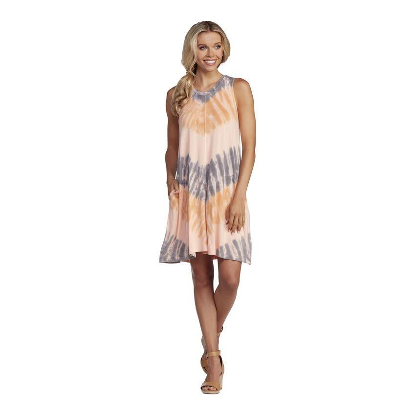 MUD PIE MULTI BAYLOR SWING DRESS