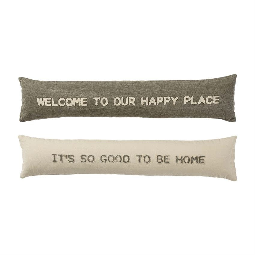 MUD PIE HAPPY SKINNY PILLOWS