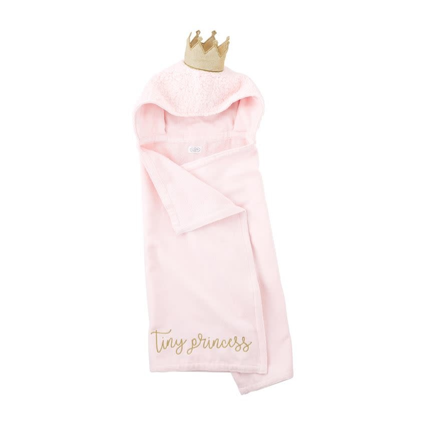 MUD PIE BABY PRINCESS HOODED TOWEL