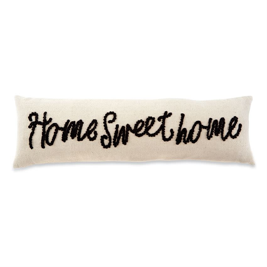 MUD PIE SWEET HOME KNOT PILLOW