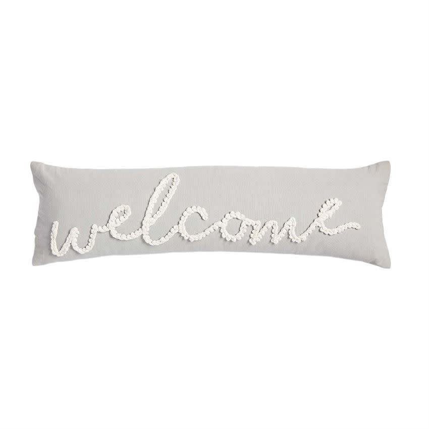 MUD PIE WELCOME KNOT PILLOW