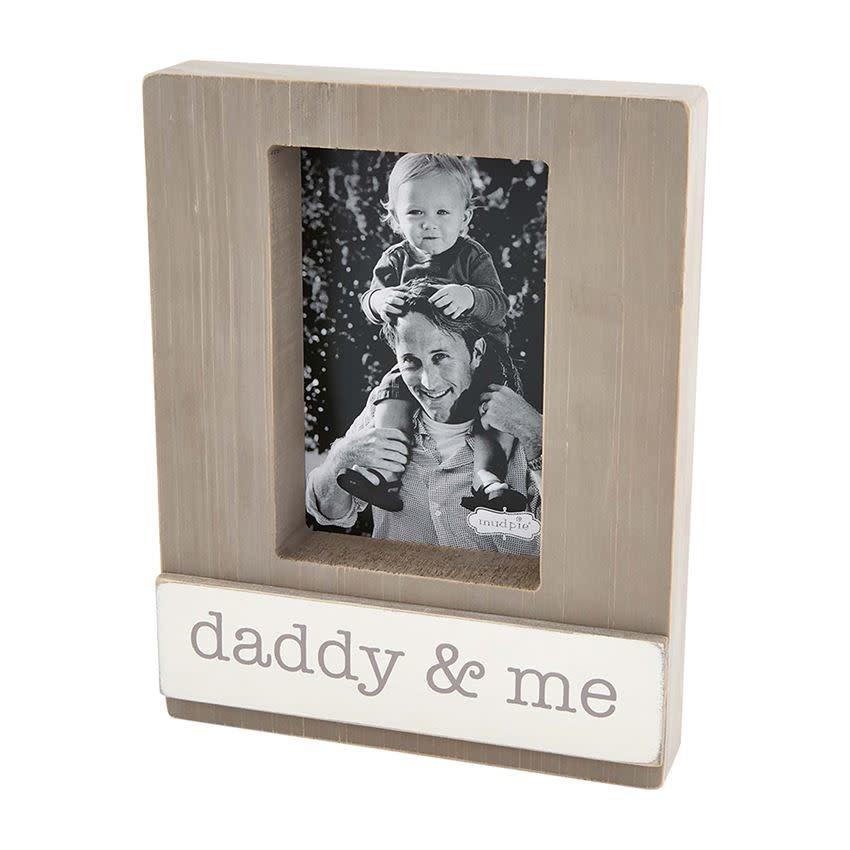 MUD PIE DADDY & ME BLOCK FRAME