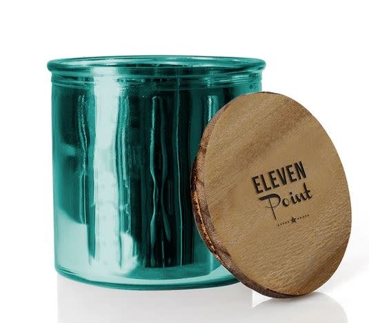 ELEVEN POINT CANDLES THE ROCK STAR CANDLE-TURQUOISE