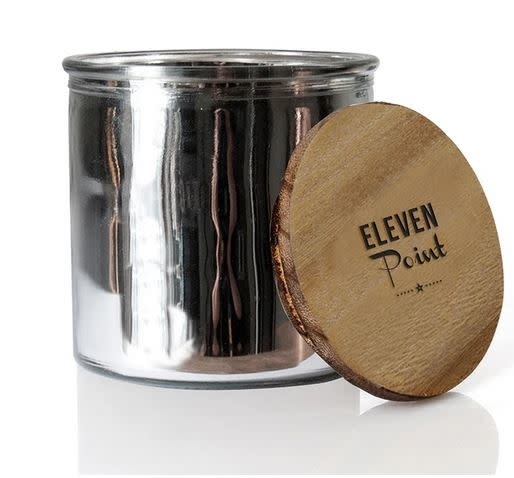 ELEVEN POINT CANDLES THE ROCK STAR CANDLE-SILVER