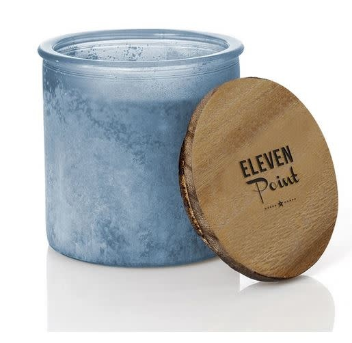 ELEVEN POINT CANDLES RIVER ROCK CANDLE-DENIM