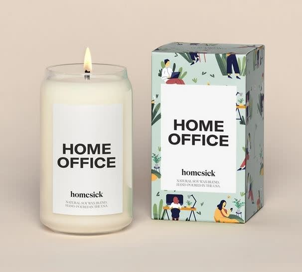 Homesick Candles Home Office Candle