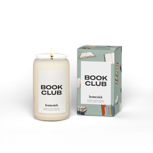 Homesick Candles Book Club Candle