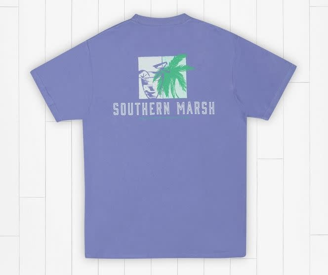 SOUTHERN MARSH BRANDING TEE-BEACH DRINKS