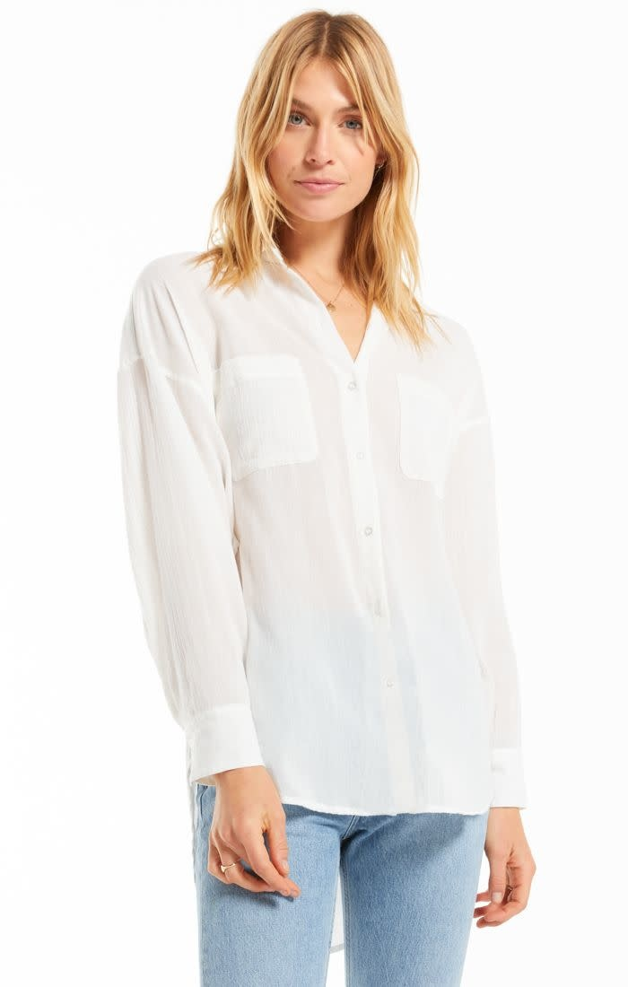 Z SUPPLY LALO BUTTON UP TOP