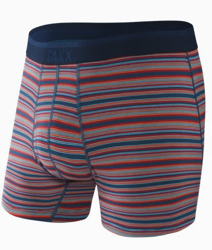 SAXX PLATINUM BOXER BRIEF - BLUE MIRAGE STRIPE