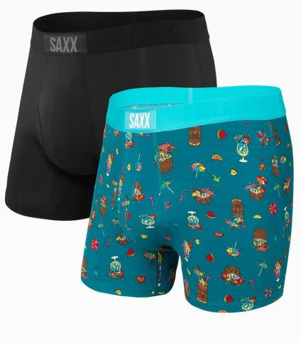 SAXX ULTRA BOXER BRIEF 2 PK-COCONUT DRINKS
