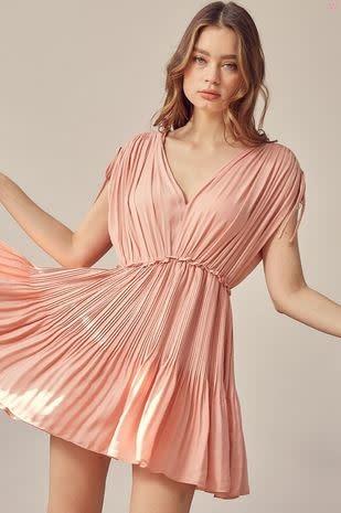 RAMONA PLEATED DRESS