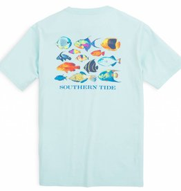 SOUTHERN TIDE MEN'S SS CARIBBEAN FISH T-SHIRT