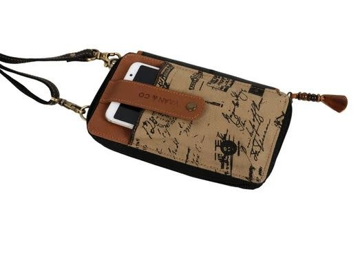 VAAN AND CO CELLPHONE CROSSBODY WALLET