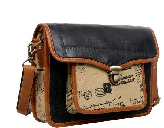 VAAN AND CO SUPPLE CROSSBODY-SCRIPT