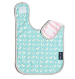BELLA TUNNO CHIRPING CHICKS - ORGANIC BIB