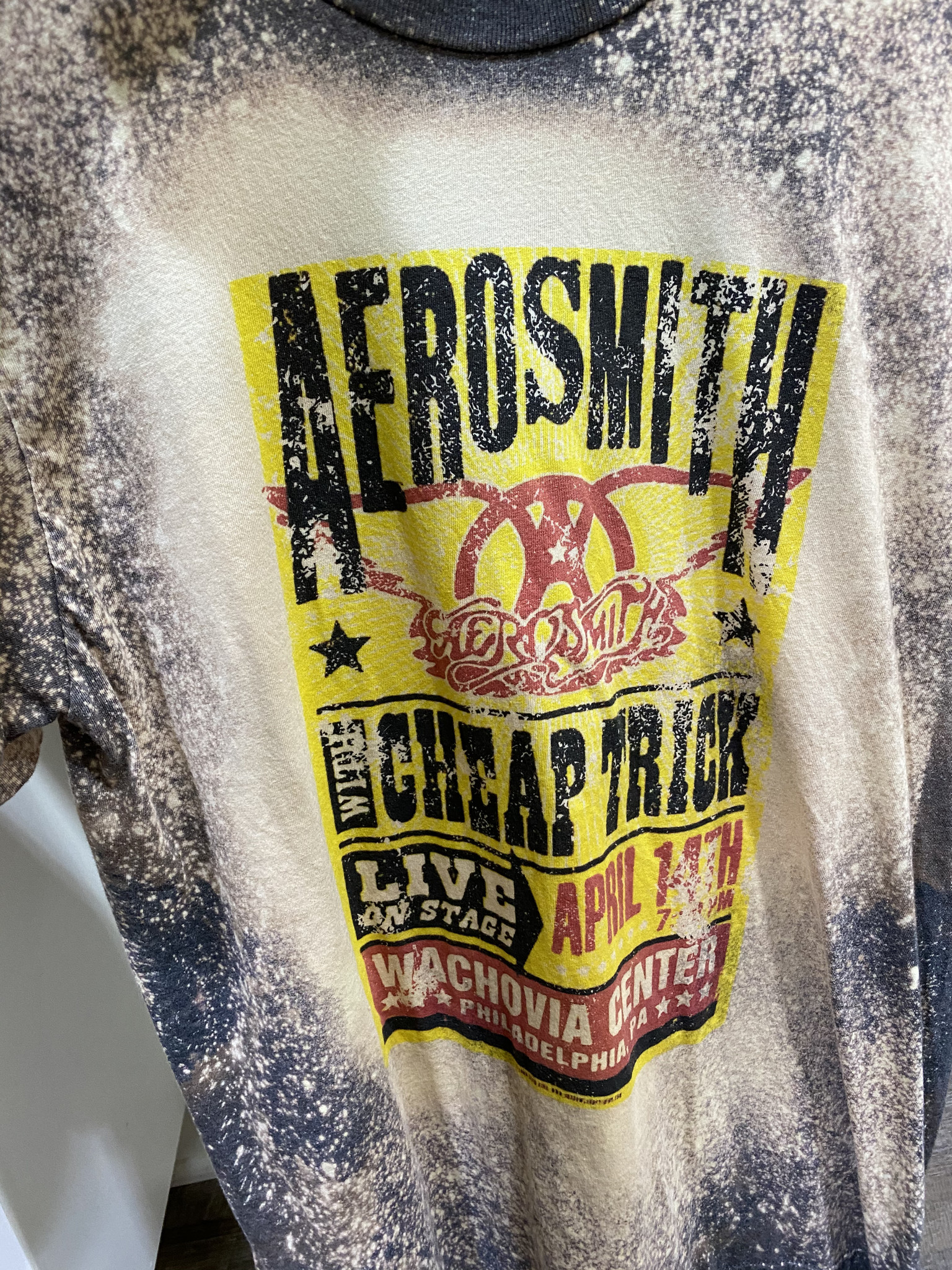 NEW VINTAGE AEROSMITH VINTAGE GRAPHIC TEE