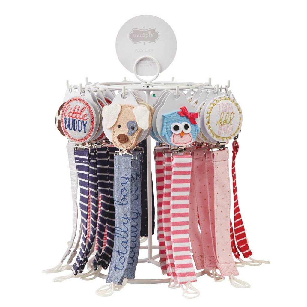 MUD PIE CUTE AS A BUTTON PACY CLIPS