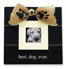 MUD PIE BEST DOG EVER FRAME