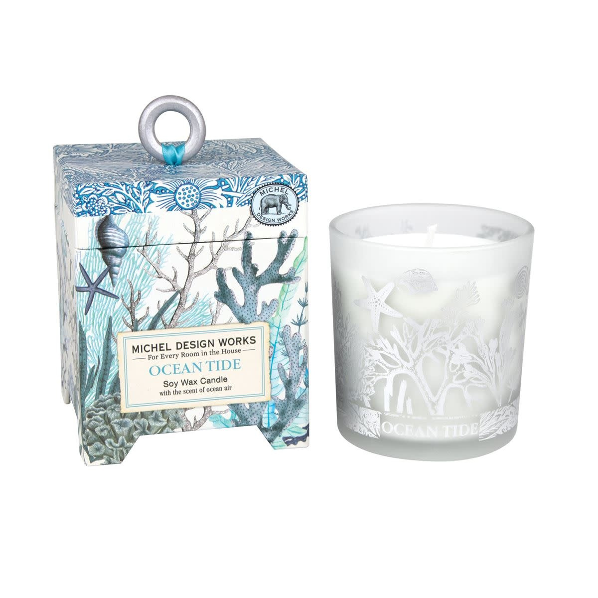 MICHEL DESIGN WORKS OCEAN TIDE SOY CANDLE WAX CANDLE