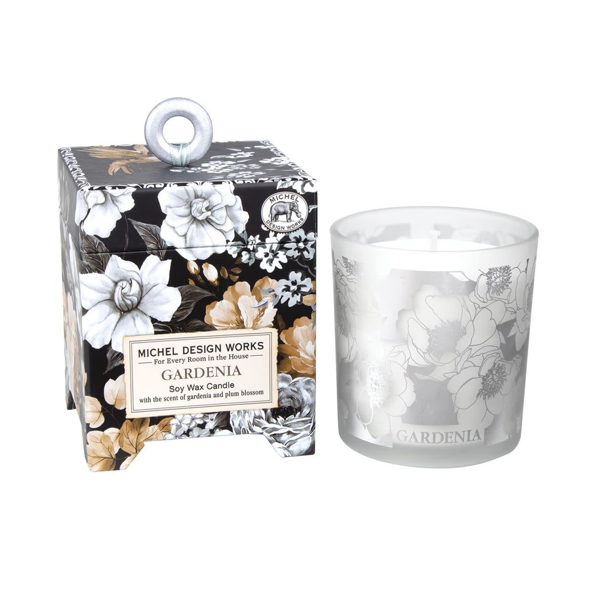 MICHEL DESIGN WORKS GARDENIA  SOY CANDLE WAX CANDLE