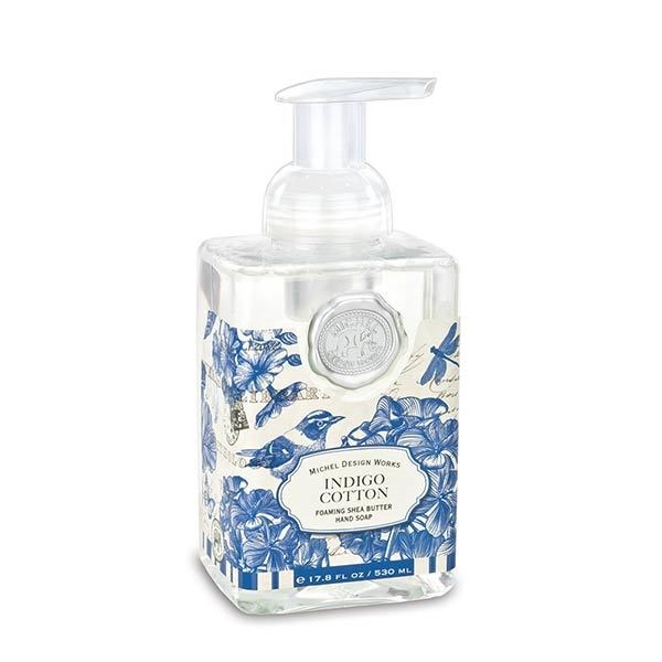 MICHEL DESIGN WORKS INDIGO COTTON FOAMING SOAP