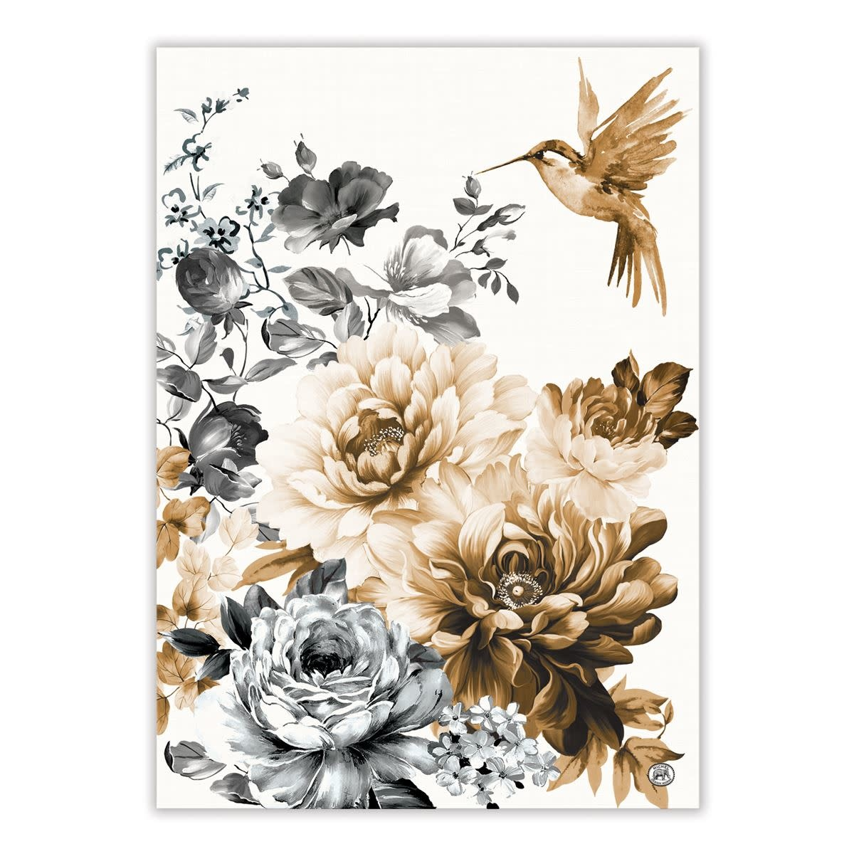 MICHEL DESIGN WORKS GARDENIA KITCHEN TOWEL