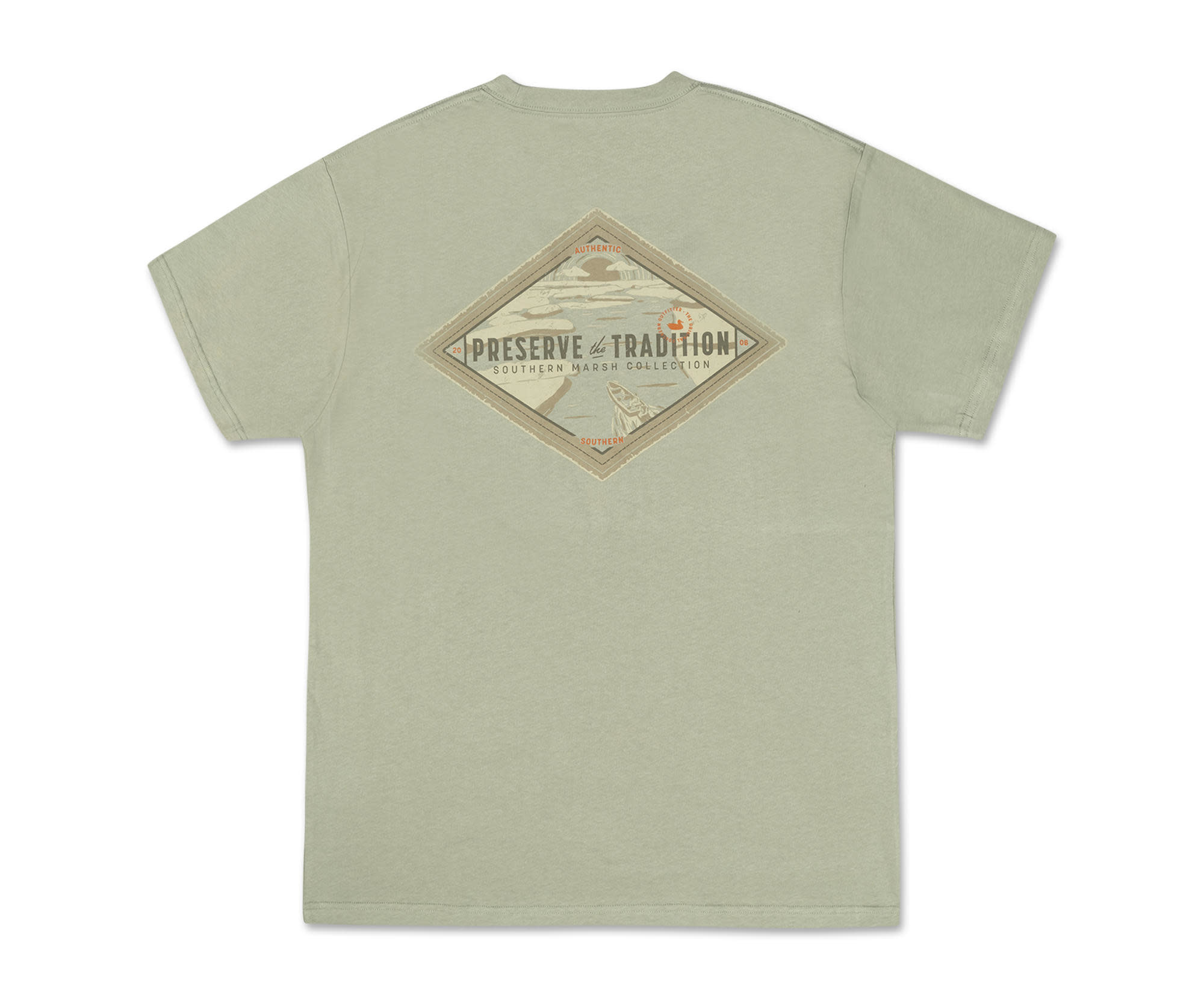 SOUTHERN MARSH SOUTHERN TRADITION TEE-MORNING RISE