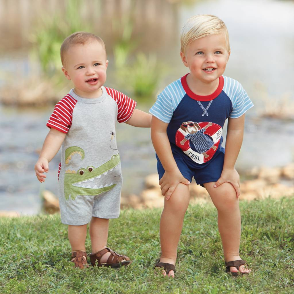 MUD PIE MARCO POLO RAGLAN SHORTALL