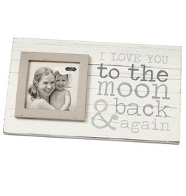 MUD PIE TO THE MOON PLANKED FRAME