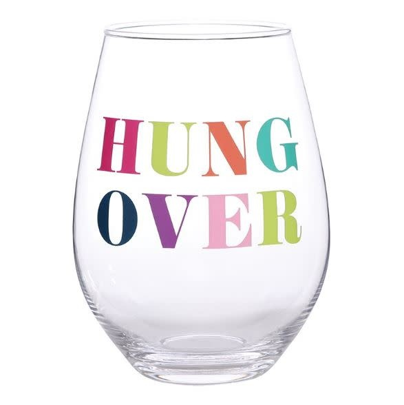 slant collections HUNGOVER 30 OZ WINE GLASS