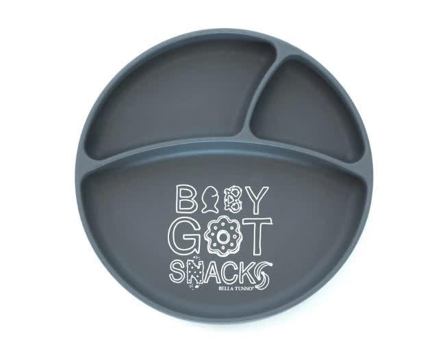 BELLA TUNNO WONDER PLATE-BABY GOT SNACKS