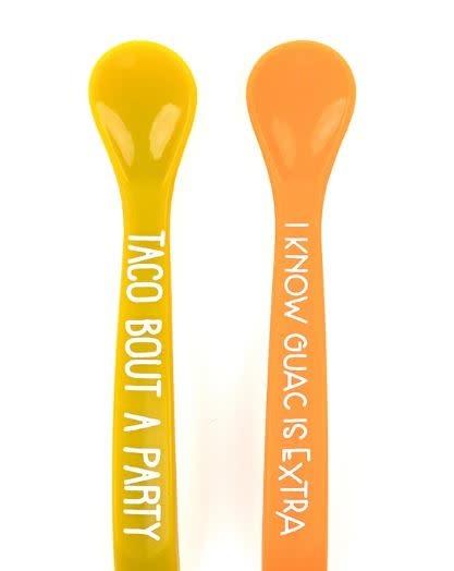 BELLA TUNNO wonder spoon set- TACO PARTY/GUAC IS EXTRA