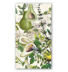 MICHEL DESIGN WORKS AVOCADO HOSTESS NAPKIN