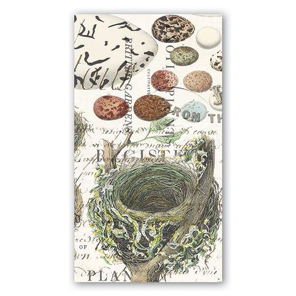 MICHEL DESIGN WORKS NEST AND EGGS HOSTESS NAPKIN