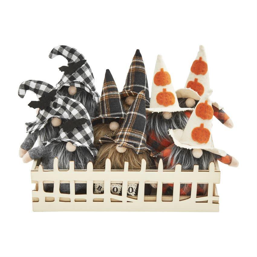 MUD PIE Small Halloween Gnomes