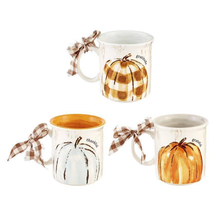 MUD PIE Pumpkin Mug