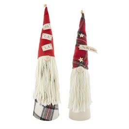 MUD PIE Extra Large Gnome Sitters