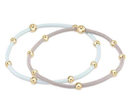 """ENEWTON """"e""""ssentials bracelet stack of 2-Signature"""
