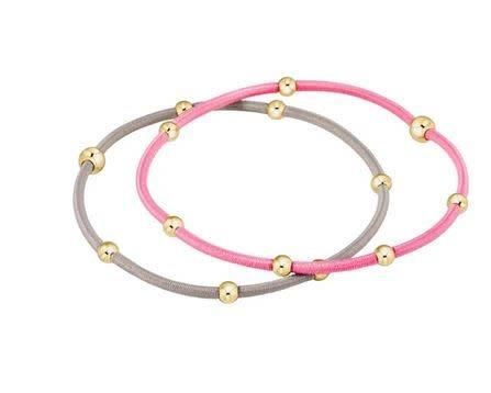 "ENEWTON ""e""ssentials bracelet stack of 2-Bubblegum"